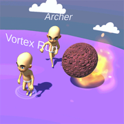 Vortex Run 3D : Multiplayer