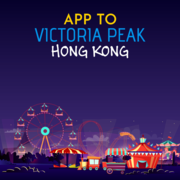 App to Victoria Peak Hong Kong