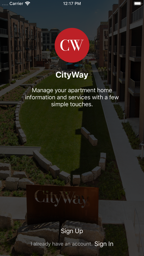 CityWay Resident Experience