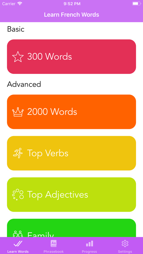 Learn French: 4000+ Words